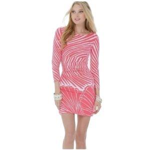 LILLY PULITZER *Rare* Tapango Watermelom Shell dress 3/4 sleeve Women's Medium